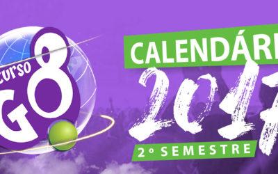 Calendário 2017 2° Semestre – Dezembro